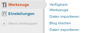 Inhalt in WordPress.com importieren
